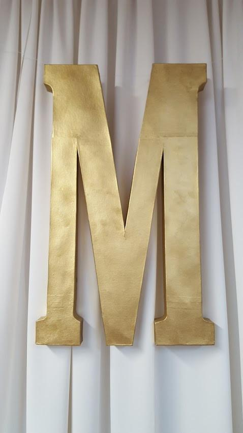 Paper Mache Letters Image