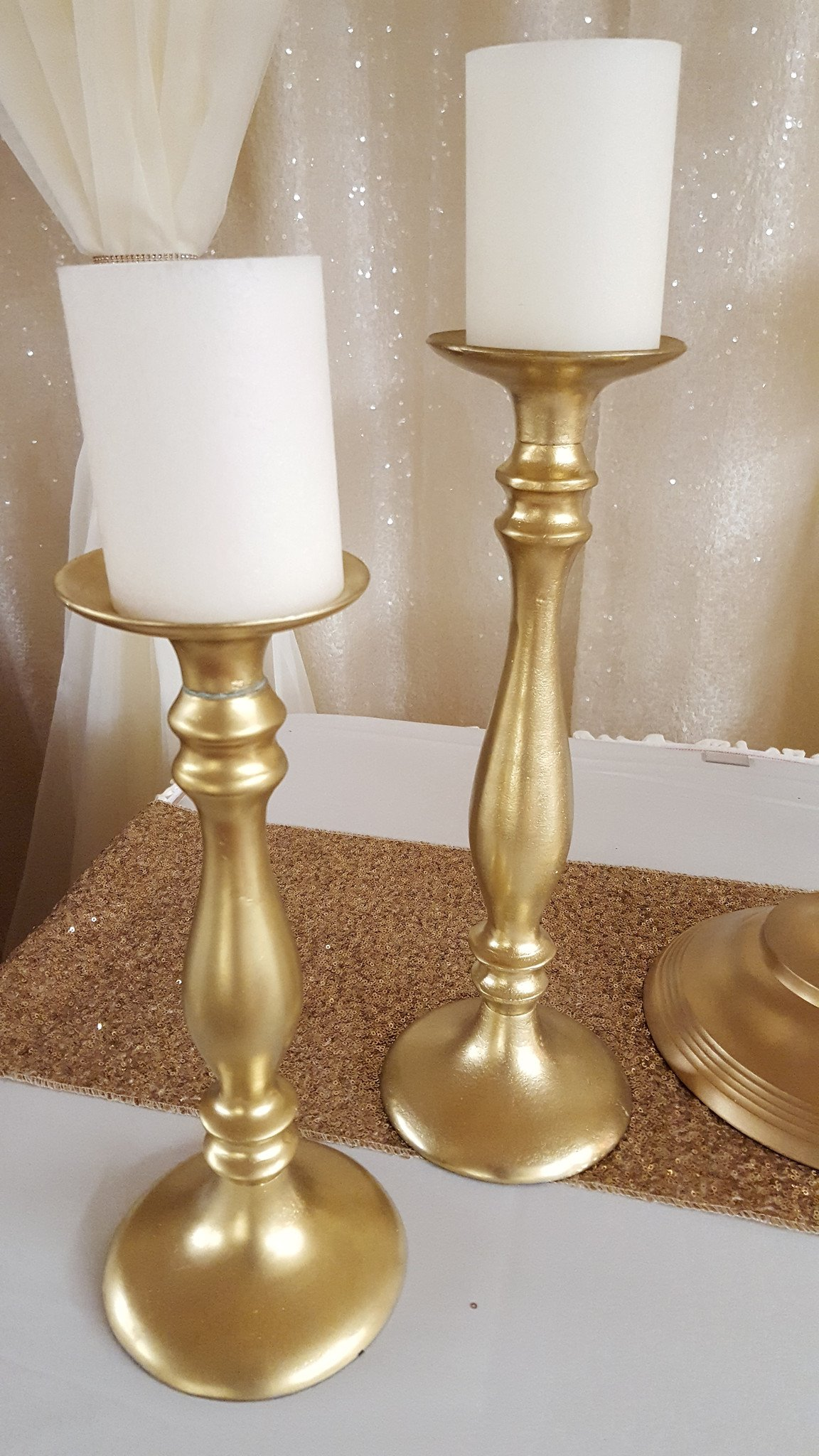 Gold Candlesticks Image