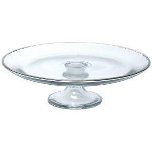 Glass Cake Plate Image