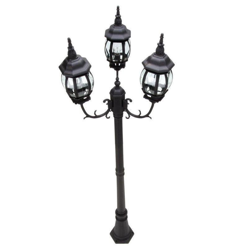Black Street Lamp Image