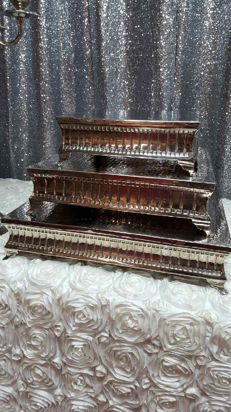 Silver Cake Stands Image
