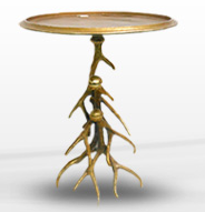 Gold Antler Table Image