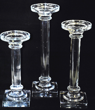 Glass Candle Holder Image