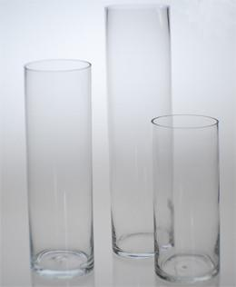 Tall Cylindar Vases Image