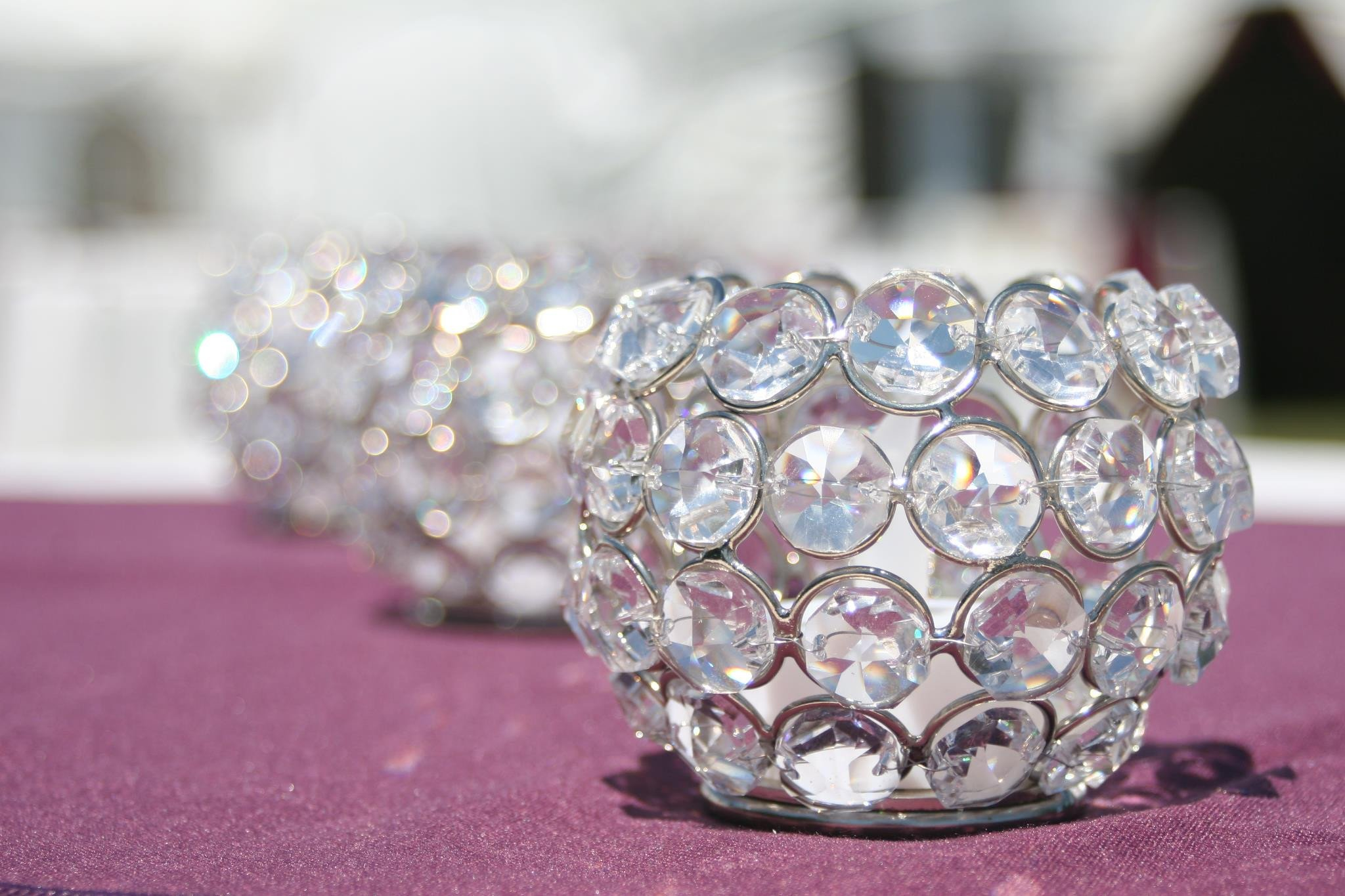 Crystal Votive Cups Image
