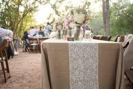 Burlap Table Cloth Image