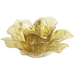 Gold Flower Votive Image