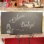 Large Rectangle Crystal Chalkboard Image