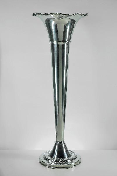 Silver Trumpet Vase Image