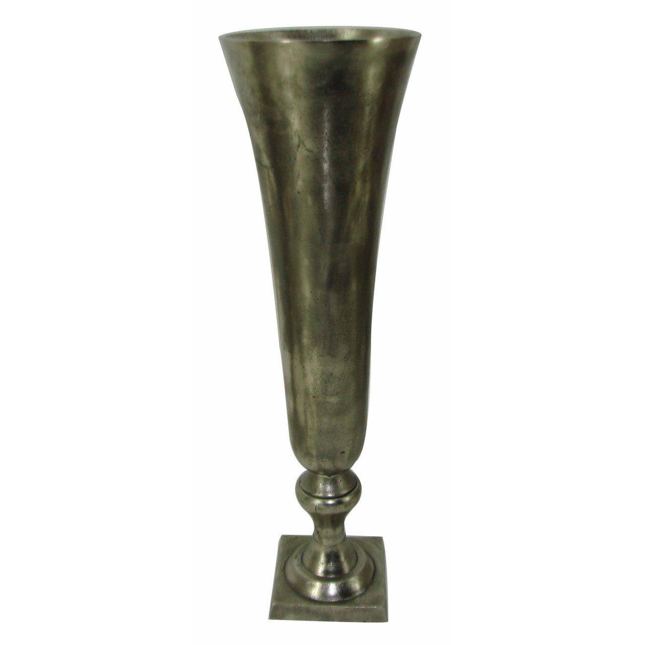 Vintage Silver Vase Image
