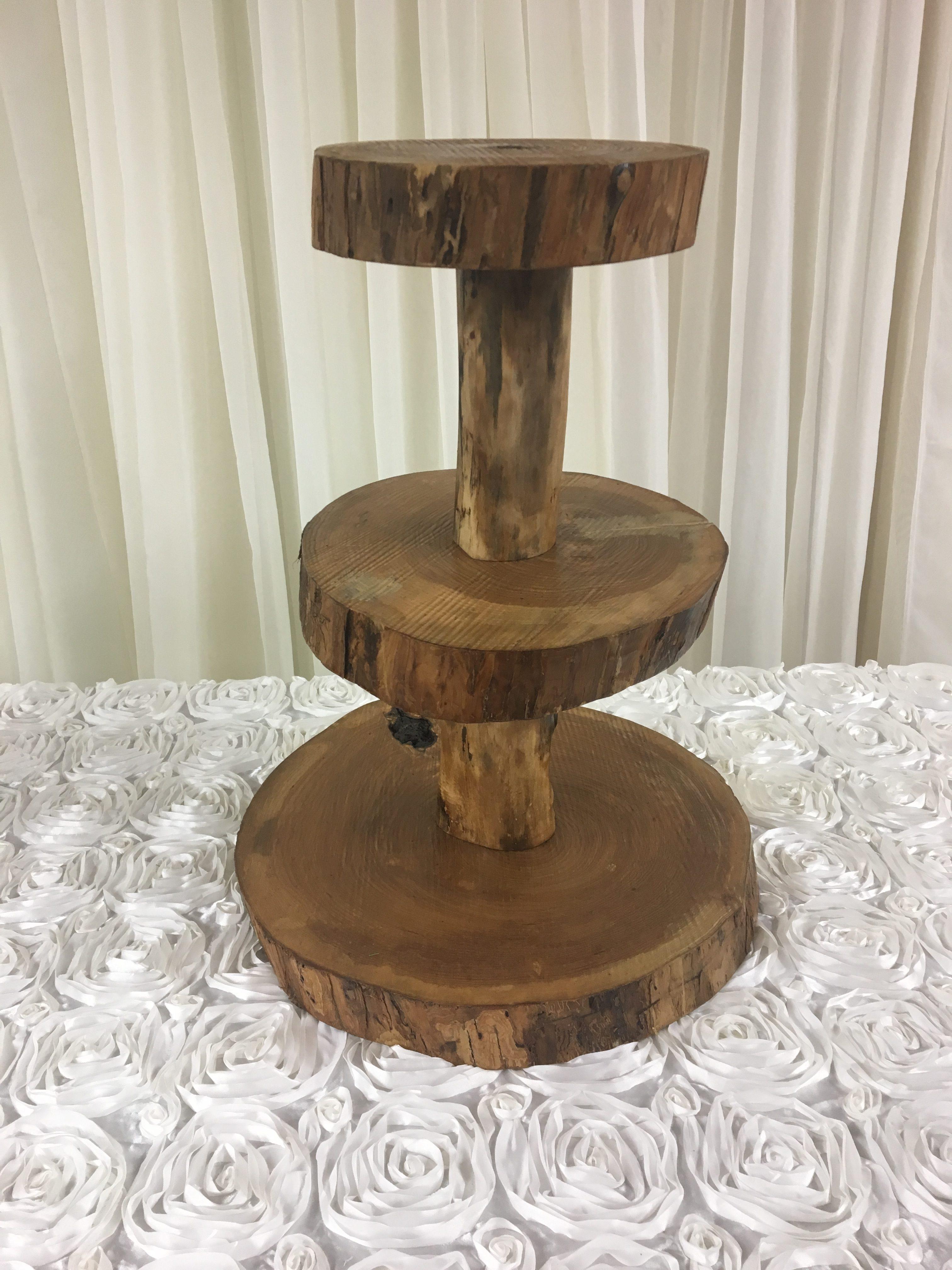 Log Cupcake Stand Image