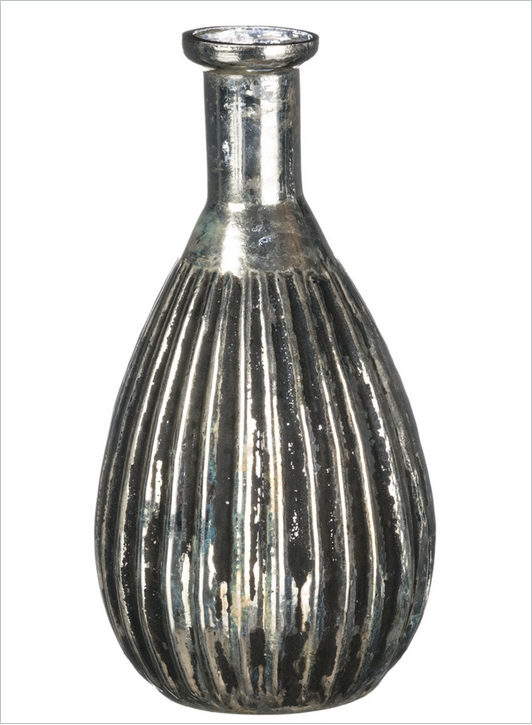 Small Silver Mercury Vase Image