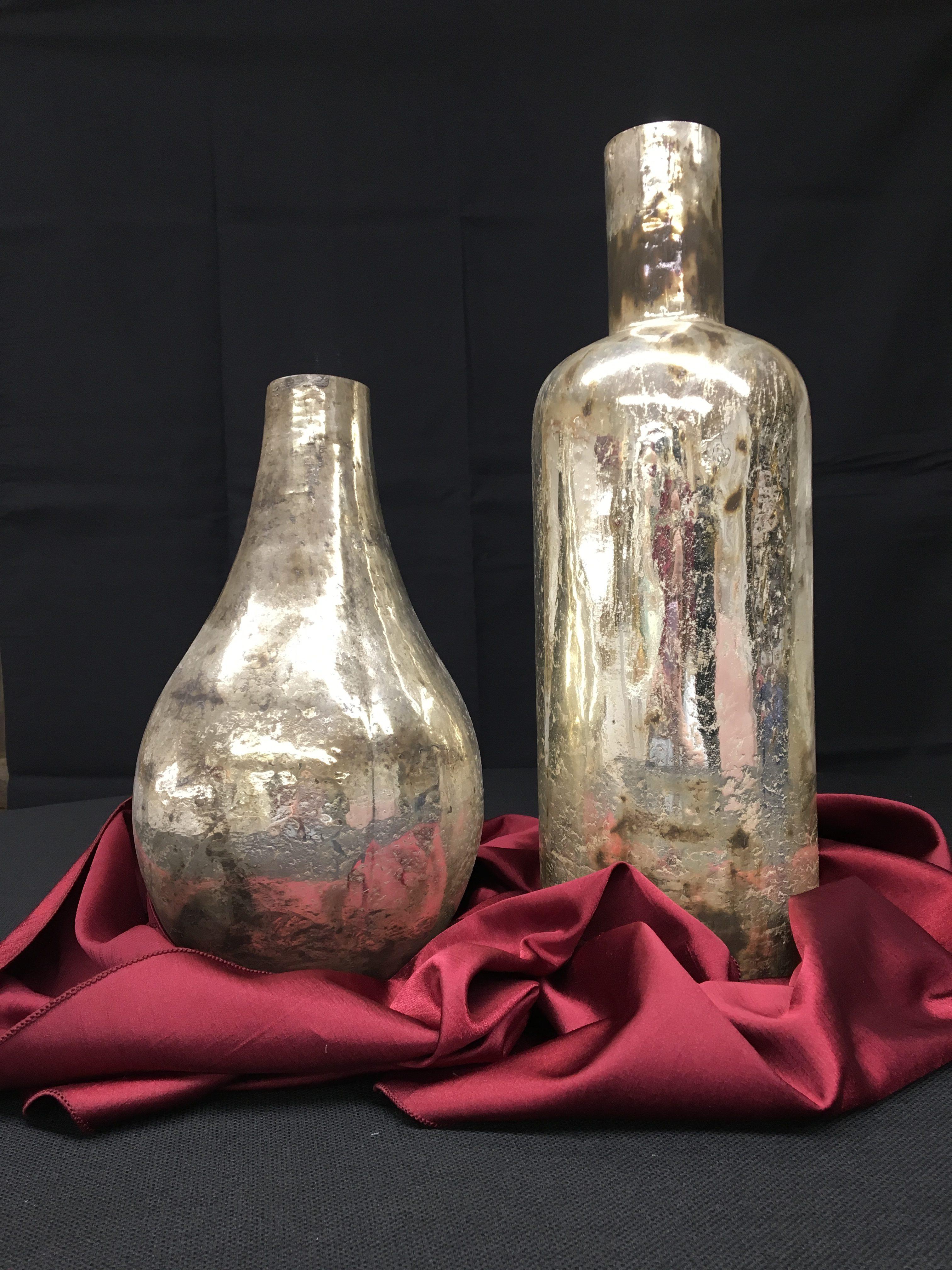 Silver Mercury Vases Image