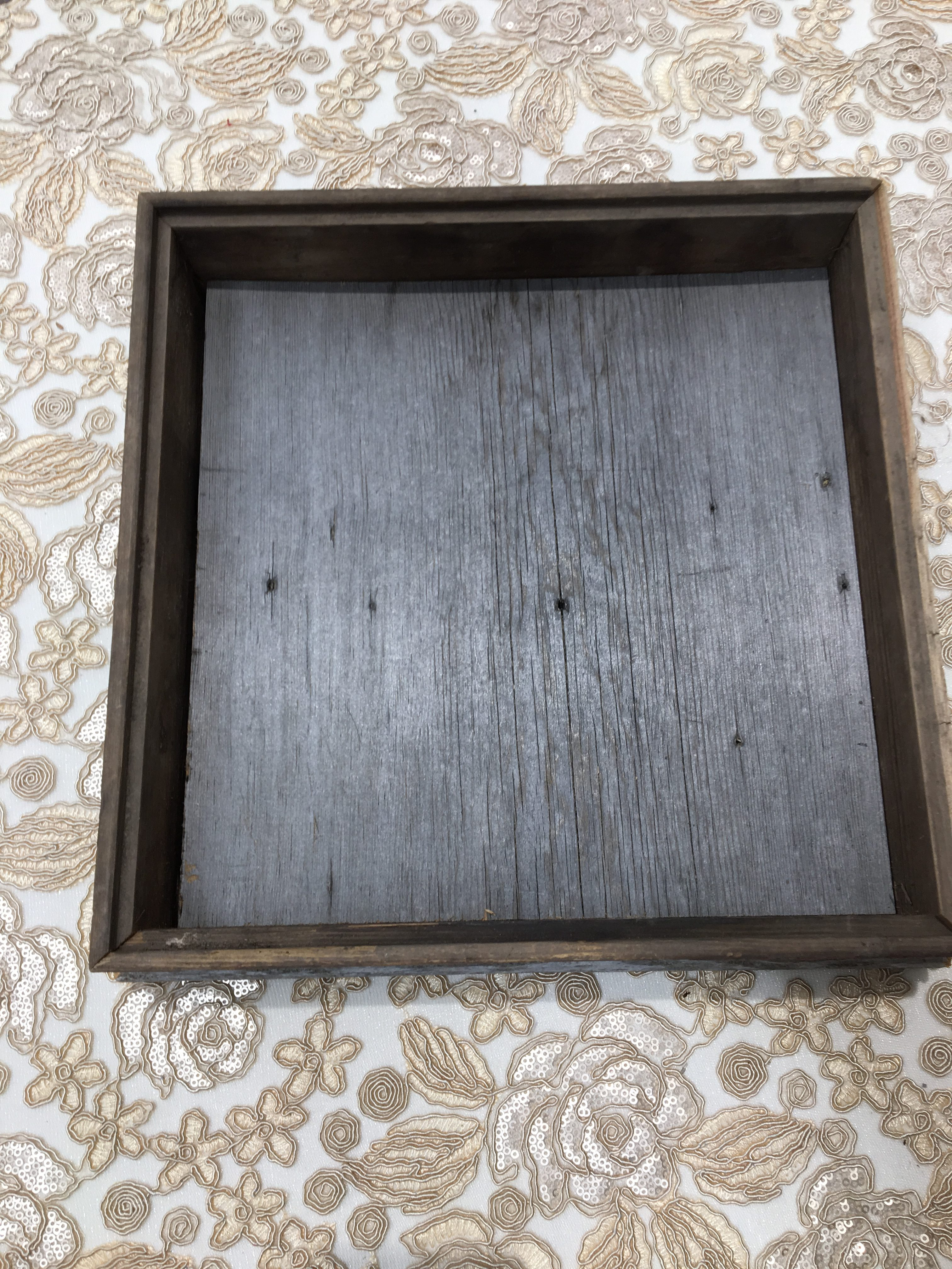 Barn Wood Tray Image