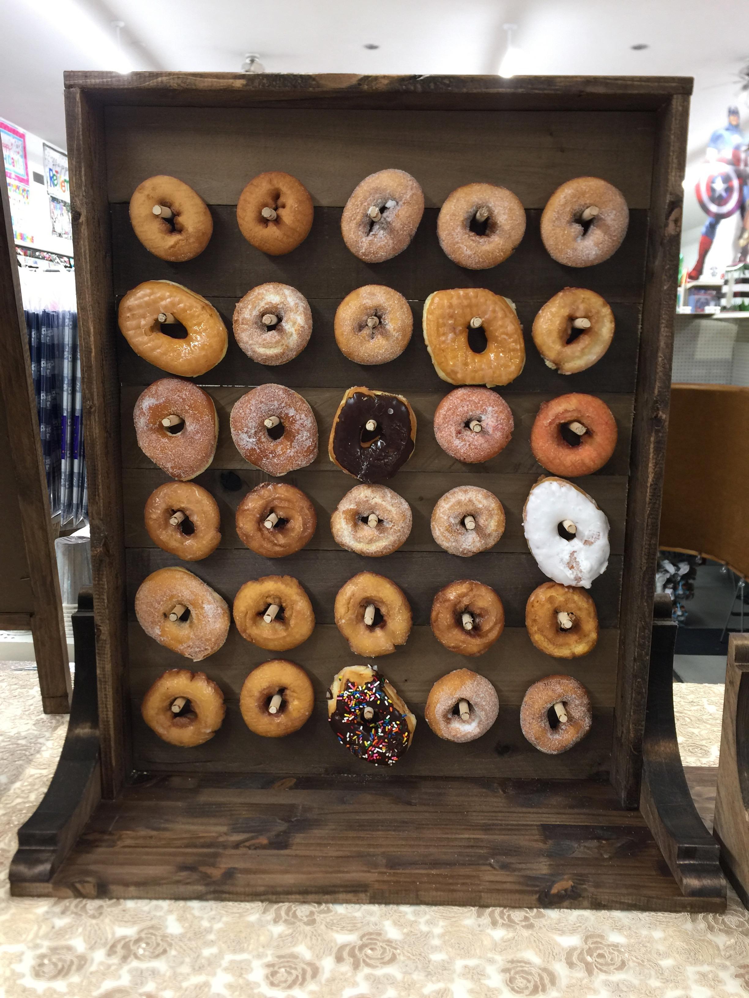 Small Donut Board Image