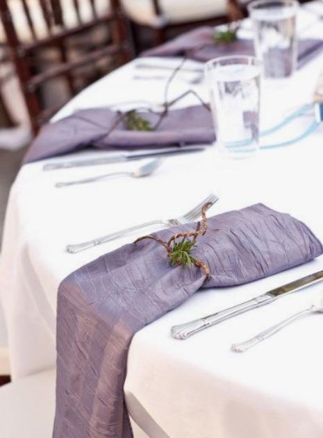Taffeta Table Linens Image