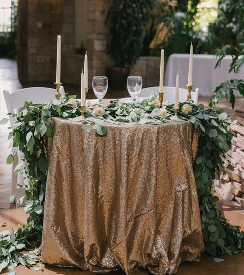 Sequin Table Linens Image