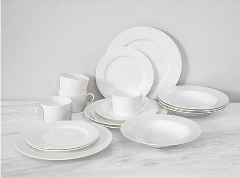 White China Plates Image