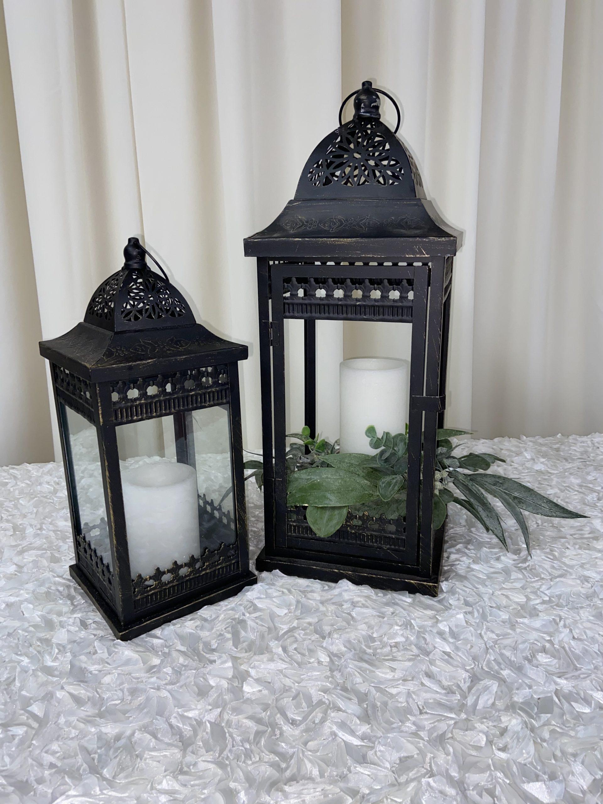 Black Metal Lantern Image