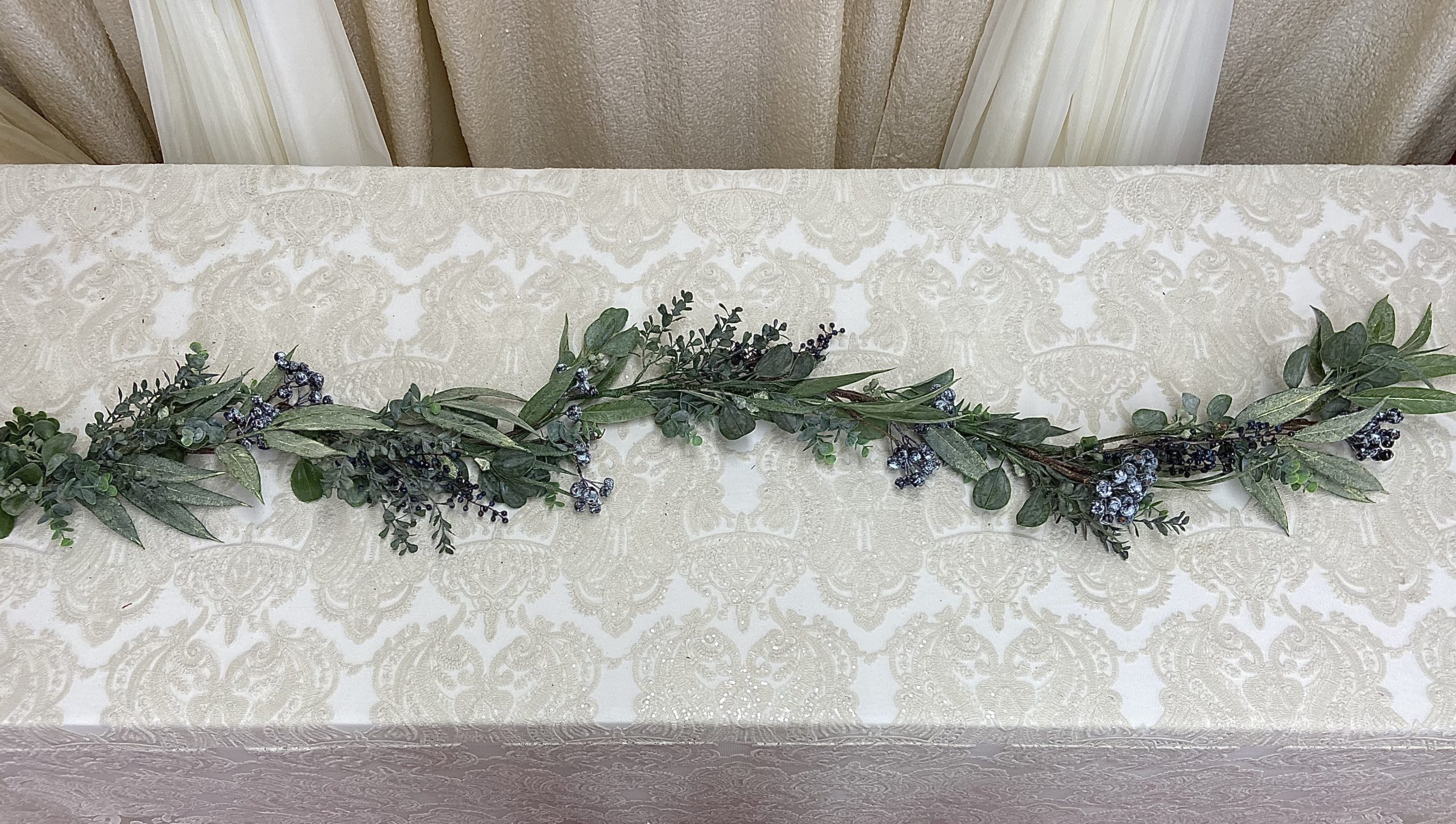 Eucalyptus Garland with Berries Image