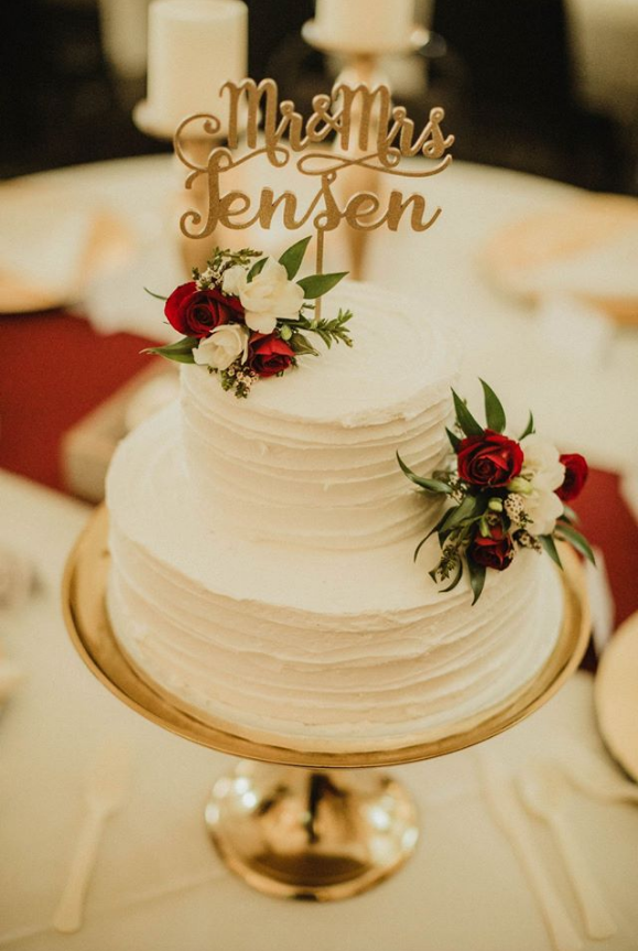 Gold Cake Plate Image