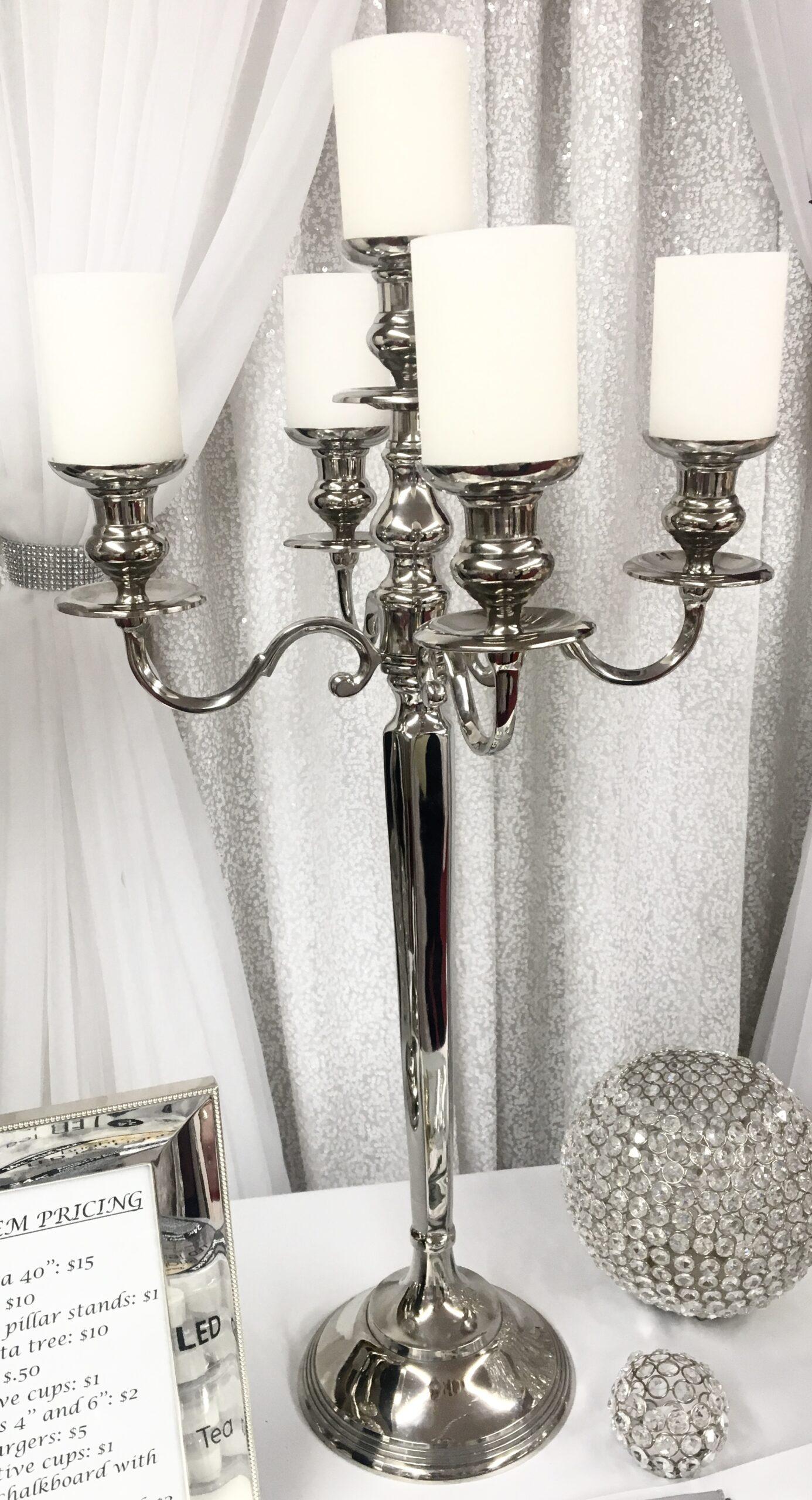 Silver Candelabra Image