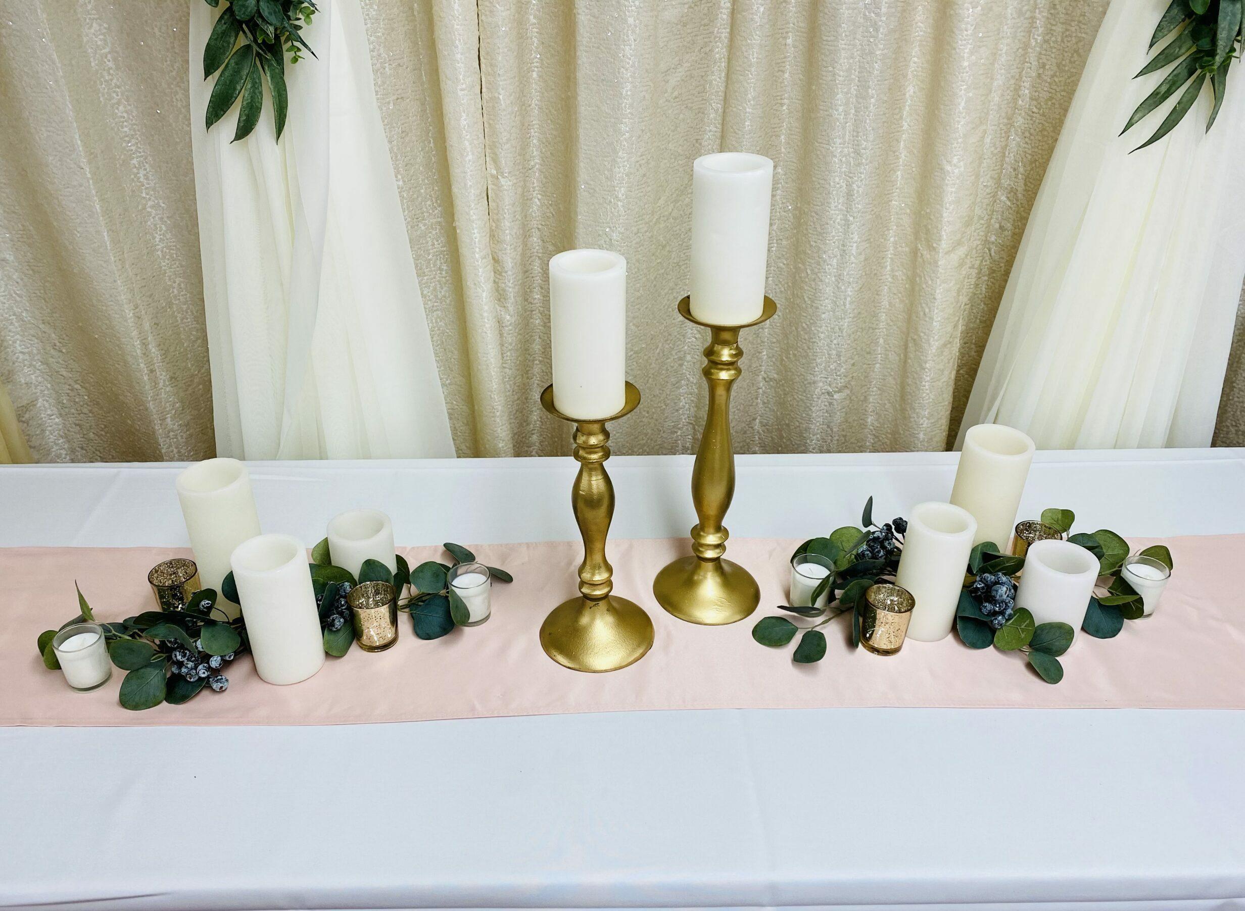 Gold Candlesticks Image