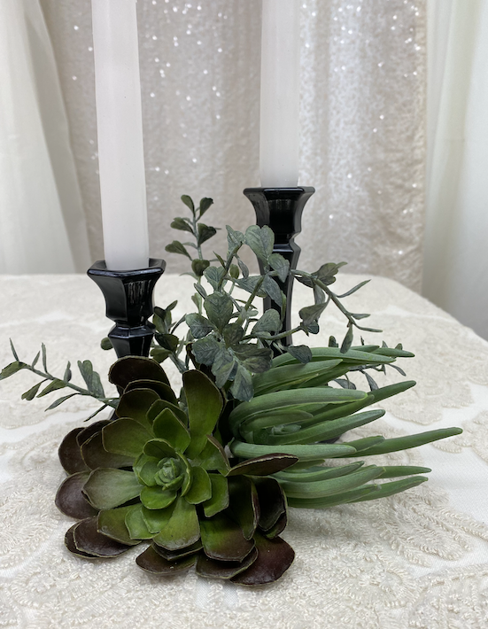 Black Taper Candle Holders Image