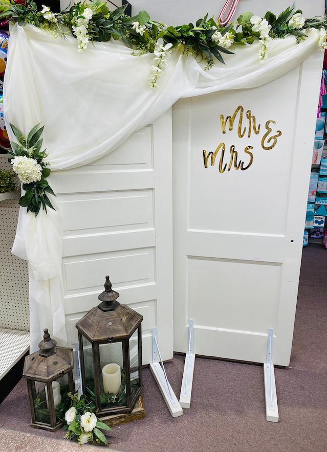 White Wooden Doors Image